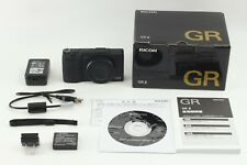 MINT IN BOX!! RICOH GR II Black 16.2MP Digital Camera BK S/C 285 From Japan #322