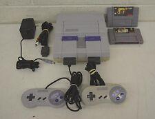 SNES Super Nintendo Console w/Beavis & Butt-Head Caesar's Palace & 2 Controllers