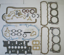 FULL ENGINE GASKET SET GRANADA RELIANT SCIMITAR 2.8 V6 CARB CARBURETOR VRS SUMP