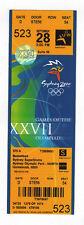 ORIG. biglietto Olimpiadi Sydney 2000 // baskettball 1/4 Final 's!!!
