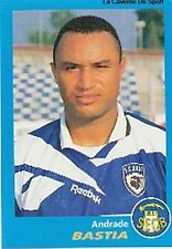 N°040 ANDRADE # BRAZIL SEC.BASTIA VIGNETTE PANINI FOOTBALL 96 STICKER 1996