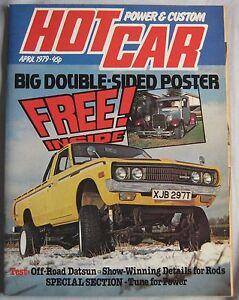 Hot Car magazine April 1979