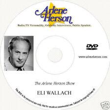 Eli Wallach TV Interview 2 Part (1 Hour)  DVD