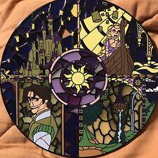 Disney Tangled Rapunzel Flynn Rider Lanterns Stained Glass Jumbo Fantasy Pin