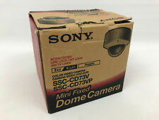 Sony SSC-CD53V Rugged Mini Fixed Dome CCTV Color Analog Camera In Original Box