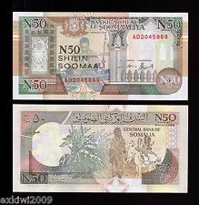SOMALIA N50 SCELLINI 1991 UNC P-R2