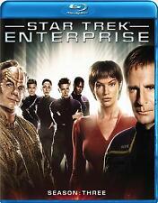 Star Trek: Enterprise - The Complete Third Season (Blu-ray 6 disc) NEW