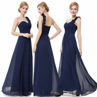 Ever-pretty Chiffon Bridesmaid Dresses Formal Party Dress Long One Shoulder 0976