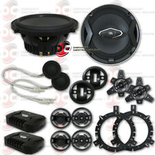 JBL GTO609C 6.5-INCH 2-WAY CAR AUDIO COMPONENT SPEAKERS SYSTEM 6-1/2 INCHES