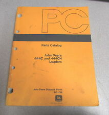 John Deere 444C 444Ch Loaders Parts Catalog Pc-1788 1983