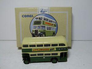 CORGI 96983 - AEC REGENT BUS - LIVERPOOL CITY TRANSPORT - EXC BOXED CONDITION