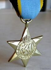 British & Commonwealth The Air Crew Europe Star Military Campaign Medal WWII