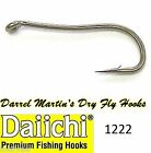 DAIICHI 1222 Darrel Martin's Special Dry Fly Hook - Crystal Finish fly tying