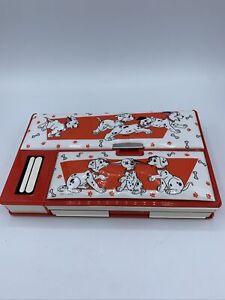 VINTAGE Disney 101 Dalmatians The Pencil Pouch Organizer Vintage Trapper Keeper