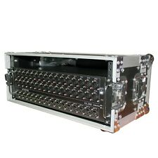 ProX X-4U7D 4U Deluxe Rack Case For Midas Dl32, S32, Dl16, S16 Snake W/Handle