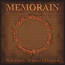 "Memorain ""Seven Sacrifices"" CD [SPEED THRASH METAL FROM GREECE]"