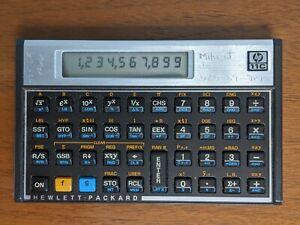 HP 11C Hewlett Packard Calculator Original Tested Working No Case RPN