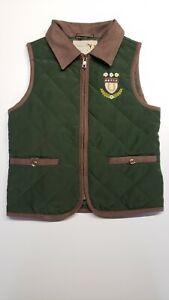 Gymboree Equestrian Club riding vest girls size 6