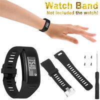 Comfortable Silicone Band Strap Bracelet Wrist Band&Tool For Garmin Vivosmart HR