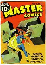 Master Comics #33 Photocopy Comic Book, Captain Marvel Jr., Bulletman
