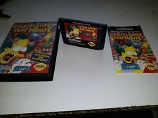 Sega Mega Drive / GENESIS Boxed Game * KRUSTY'S SUPER FUN HOUSE * GGG