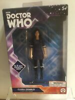 """Doctor Who 5.5"""" Action Figure: Clara Oswald BBC Collector Series New in Box"""