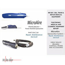 Microaire Liposuction Hand Piece Medical Equipment Evaluation & Repair Service
