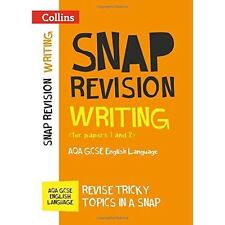 Writing (for papers 1 and 2): AQA GCSE English Language (Collins Snap Revision),