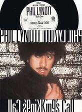 Phil Lynott ORIG UK PS 45 King's call NM '80 Vertigo LYN1 Thin Lizzy Hard Rock