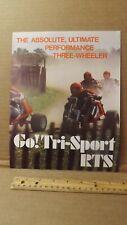 Vtg Tri-Sport RTS-5 8 MAC 290 340 Sales Brochure by Alsport