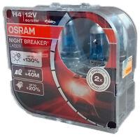 H4 OSRAM  Night Breaker LASER +130% 2st. headlight 64193NBL-HCB