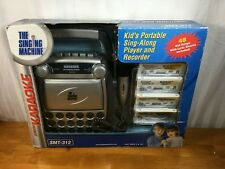 The Singing Machine Kid's Recordable Portable Karaoke SMT-312