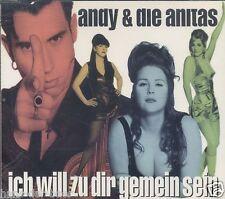 Andy & die Anitas - Ich will zu dir gemein sein ♫ Maxi-Single-CD 1995 ♫ WIE NEU