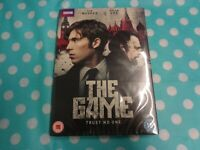 BBC - THE GAME - TOM HUGHES & BRIAN COX - DVD - FREE  DELIVERY,new/sealed