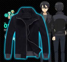Sword Art Online GGO Kirigaya Kazuto, Épais veste manteau costume de cosplay