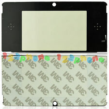 TOP UPPER SCREEN OUTER LENS (PLASTIC) COVER + STICKER FOR NINTENDO 3DS