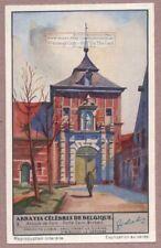 Belgium  Abbey Church AbbayeDe  Parc 1930s Trade Ad Card