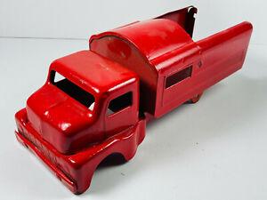 Antique Pressed Steel Toy Truck REPAINT wyandotte buddy L