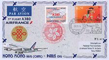 "A380-267T1 FFC CHINA ""Airbus A380 Air France, First Flight Hong Kong-Paris"" 2014"