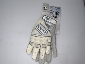 NWT Franklin Powerstrap Chrome Batting Gloves Adult XL 025725489572