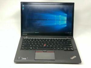 "Lenovo ThinkPad T450s Core i5-5300U 14"" 2.3 GHz 8 GB RAM 256 GB SSD w/Adapter"