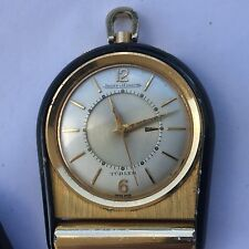 Jaeger Le-Coultre Lecoultre Vintage Memovox Alarm Table Travel Pocket Watch