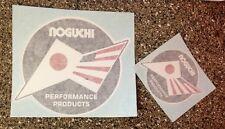 Noguchi Yamaha Racing Decal Sticker YZ125 YZ250 MX250 MX125 YZ80 NEW 2.5 And 4.5