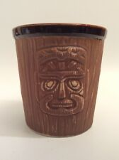 Tiki Bar ( Swizzle Stick Holder) Polynesian, Mask, Totem, Lounge, Hawaii,