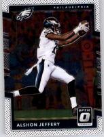 2017 Optic Alshon Jeffery NFL PWE Base Card Eagles #57