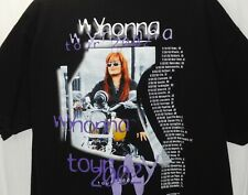 Wynonna Judd Black Xl Concert T-Shirt - Red Wy & Blues Tour 2002 - Motorcycle