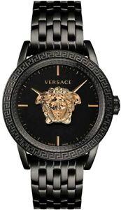 VERSACE MENS PALAZZO EMPIRE VERD00518 BLACK & ROSEGOLD DIAL RRP £1195.00