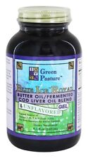 Green Pasture Products Butter Oil/Fermented Cod Liver Oil Blend 8.1 oz Gel