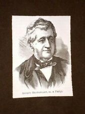 Botanico Adolphe Théodore Brongniart di Parigi
