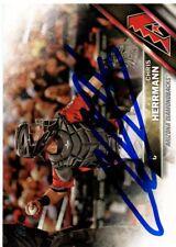 Chris Herrmann Arizona Diamondbacks 2016 Topps Update Signed Card